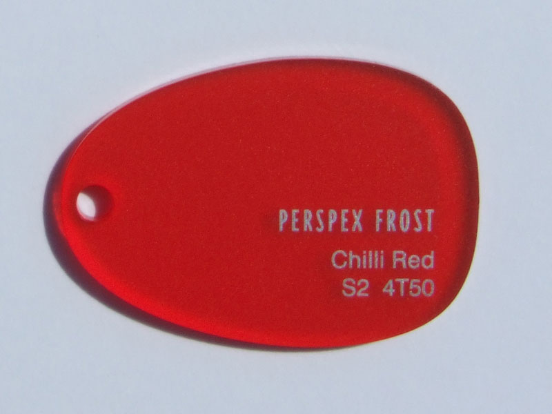 PERSPEX Chilli Red 4T50 (3mm) 3050×2030mm
