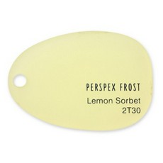 PERSPEX Lemon Sorbet 2T30 (5mm) 3050×2030mm